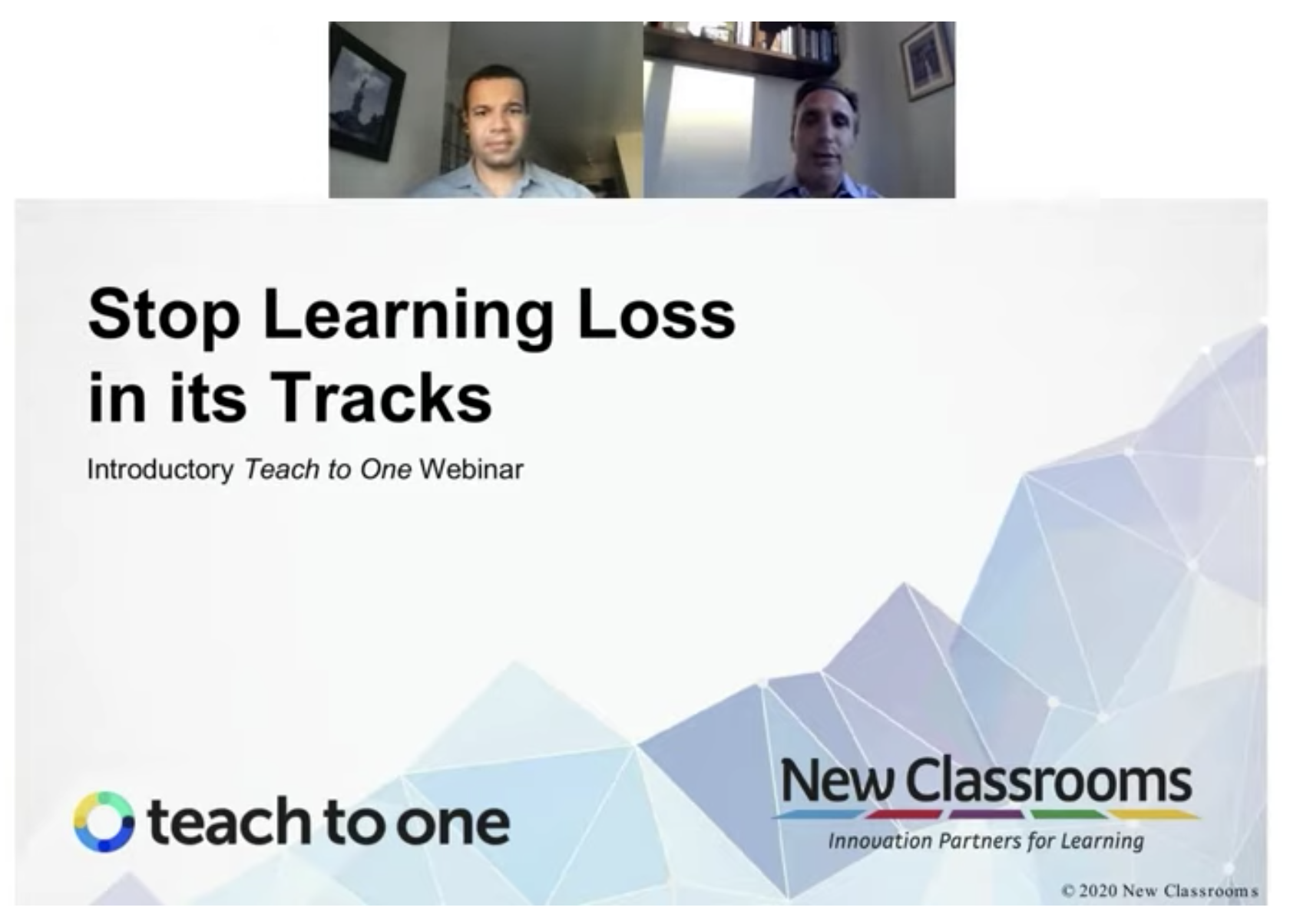 Stop learning loss in its tracks
